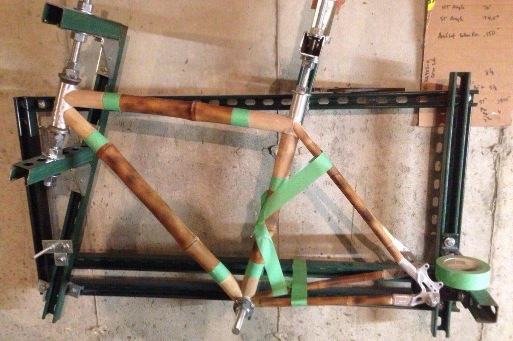 Como hacer bicicletas de bambú