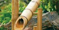 shishi odoshi feng shui fuente jardin