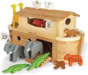 arca de noé juguete bambú 2020