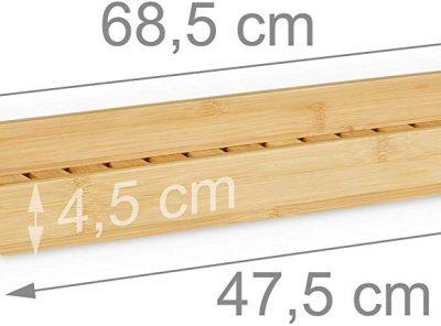 Bandeja bañera en bambú