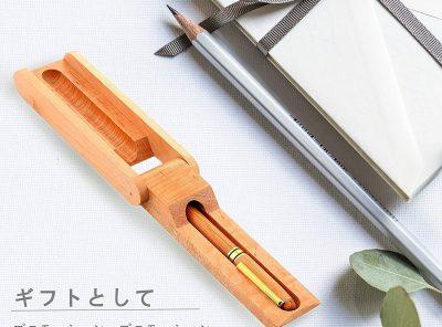 Bolígrafo de bambú elegante
