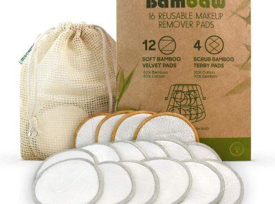 Discos desmaquillantes con fibra de bambú