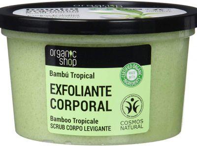 Exfoliante corporal bambú tropical con extracto de bambú