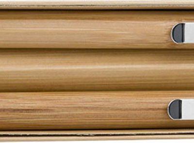 Juego de bolígrafo y lápiz de bambú