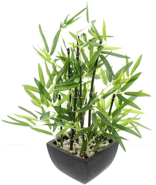 planta bambu artificial maceta 2020