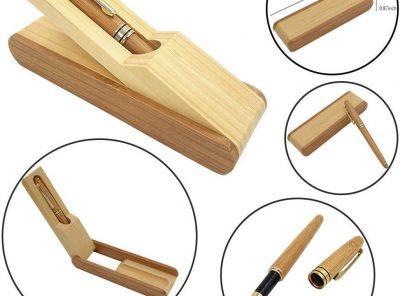 Pluma de bambú elegante