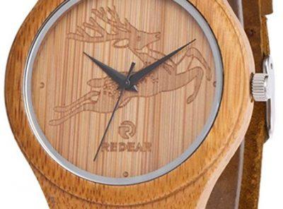 reloj bambu mujer 2020